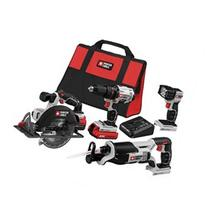 Porter-Cable PCCK614L4 20V MAX Cordless Lithium-Ion 4-Tool