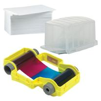 PCF1 Magicard Supply Bundle - PVC Cards/YMCKO Ribbon - Opera