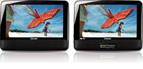 Philips PD9012/37 LCD Dual Screen Portable DVD Player, 9-