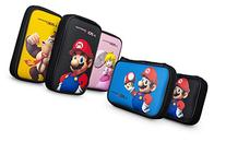 PDP Mario Game Traveler Pouch Black for Nintendo 3DS XL