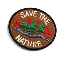 Peace002 - Save The Nature Patch - Peace Sign Patch - Logo