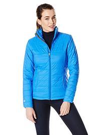 White Sierra Women's Peak Packable Jacket, Small, Blue Ice