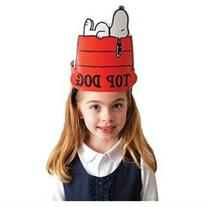 Peanuts Snoopy Top Dog Wearable Cut Out Hats
