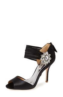 Women's Badgley Mischka 'Gayla' Peep Toe Sandal, Size 9.5 M