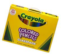 Crayola 462 Ct Colored Pencil Classpack ,14 Assorted Colors