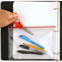 StoreSMART® Pencil Supply Zipper Case for 3-Ring Binders -