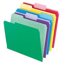 Pendaflex Letter Size File Folders with InfoPocket