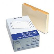 Pendaflex 23200 Pendaflex Double-Ply Tabbed File Jacket w/2