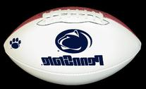 Penn State Nittany Lions Official Size Synthetic Leather