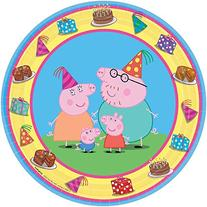 Peppa Pig Dessert Plates 24-pack