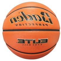 Baden Perfection Elite Official Wide Channel Basketball, 28.5-Inch, NFHS Approved