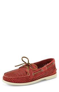 Men's Sperry 'Authentic Original' Perforated Leather Boat
