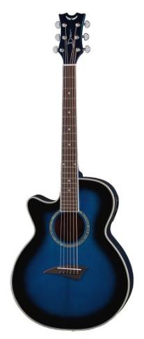 Dean Performer Mini Jumbo Acoustic-Electric Guitar, Blue