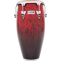 LP Performer Series Tumba Red Fade Chrome Hardware