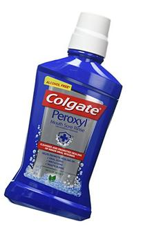 Colgate Peroxyl Oral Cleansers, Mild Mint, 16.9 oz