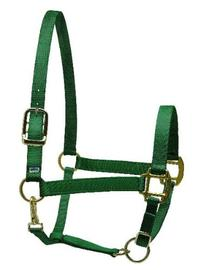 Perris Leather Collection Nylon SuperHalter - Color: Hunter