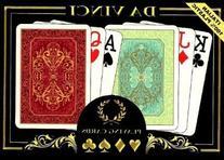 Da Vinci Persiano Italian 100-Percent Plastic Playing Cards
