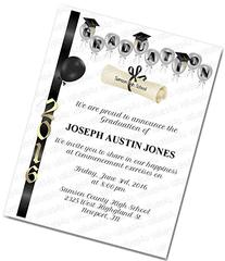 Personalized Graduation Commencement Invitation