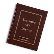 Personal Creations Personalized Leather Story of a Lifetime