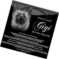 Personalized Pet Dog Cat Memorial with Rainbow Bridge Poem