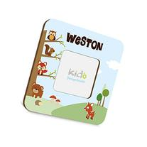 Personalized Woodland Forest Friends Picture Photo Frame,
