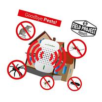 PestByGoneUltrasonic Pest Repellent Repels Rodents, Mice,