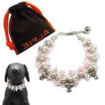 Alfie Pet by Petoga Couture - Parvani Floral Pearl Necklace