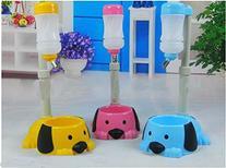 Pet Dog Puppy Drinking Feeding Hanging Water Bottle Head
