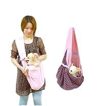 Vktech Pet Doggy Cat Comfortable Sling Carrier Pouch Travel
