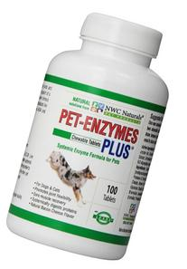NWC Naturals Pet-Enzymes Plus Joint and Allergy Formula for