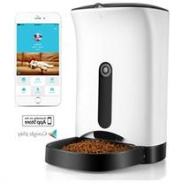 Pet Feeder for Cat Dog Animal w/ Wifi App for iOS Android