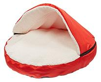 Sofantex Plush Pet Bed Cave for Cats and Small to Medium