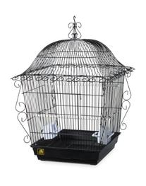 Prevue Pet Products Jumbo Scrollwork Bird Cage 220BLK Black