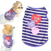 Voberry® Pet Puppy Summer Shirt Small Dog Cat Pet Clothes