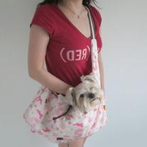 Alfie Pet - Sipa Pet Sling Carrier - Color: Pink