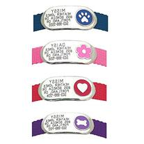 LuckyPet Pet Tags: Jewelry Collar Tag - For Dogs & Cats -