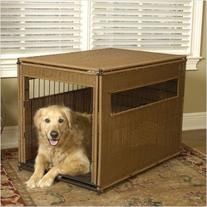 Pet Residence in Dark Brown Size: Small