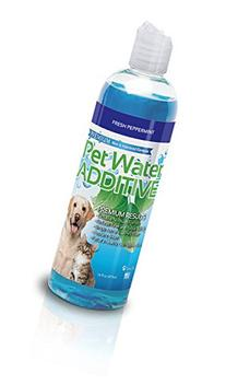 Premium Pet Water Additive for Dogs, Cats Fresh Breath