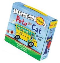 Pete the Cat Phonics Box: Includes 12 Mini-books Featuring