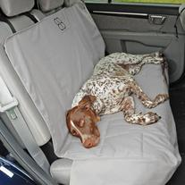 Petego PE-EBSPRS XLSUVGR Rear Car Seat Pet Protector - SUV-