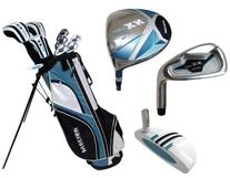 Precise Deluxe Women's Petite Complete Set , Graphite Hybrids with Steel Irons, Right Hand, Regular