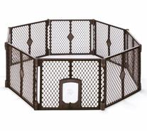 MyPet Petyard Passage, 8-Panel Pet Containment with Swinging