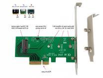 Ableconn PEXM2-SSD M.2 NGFF PCIe SSD to PCI Express 3.0 x4