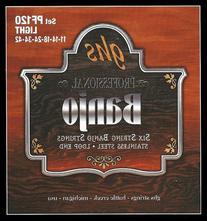 Ghs Ghs Pf120 6Str Banjo Str Set Sst