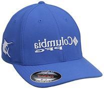 Columbia PFG Mesh Pique Ball Cap, Vivid Blue/Marlin, Small/