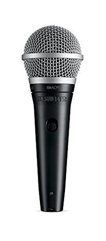 Shure PGA48-LC Cardioid Dynamic Vocal Microphone with No