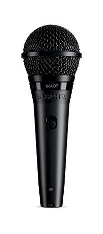 Shure PGA58-XLR Cardioid Dynamic Vocal Microphone with 15'