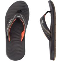 Reef Men's Phantom Flight Flip Flop,Brown/Orange,12 M US