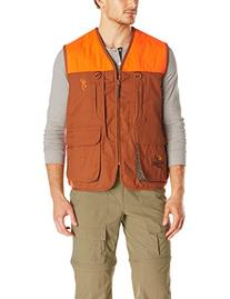 Browning Pheasants Forever Vest, Khaki/Blaze, Medium-Regular