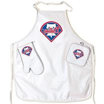 Philadelphia Phillies Official MLB One Size BBQ Grill Apron